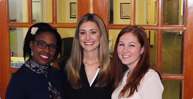 Three Alumnae Grateful for Clinic Experiences