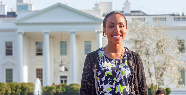 From Westhampton to Washington: Sydney Freeman, '17