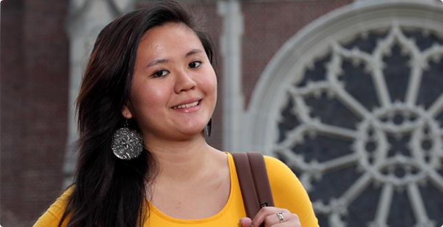 June Zhou, '13